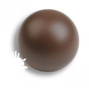 445CH2 Ручка кнопка, выполнена в форме шара, цвет коричневый матовый