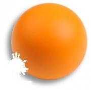 445NA1 Ручка кнопка, выполнена в форме шара, цвет оранжевый матовый
