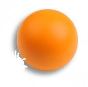 445NA2 Ручка кнопка, выполнена в форме шара, цвет оранжевый матовый