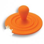 446025ST08 Ручка кнопка детская, цвет оранжевый