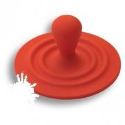 446025ST09 Ручка кнопка детская, цвет красный