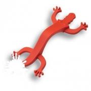 450096ST09 Ручка скоба детская, крокодил красный 96 мм