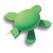 456025ST06 Ручка кнопка детская, черепаха зеленая