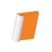 Профиль-ручка под пропил, для ДСП18, алюминий, L=4м 010031.L410.51