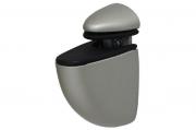 48-MN Менсолодержатель пеликан, отделка никель, малый, комплект 2 шт