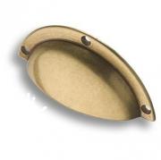 4800-22 Ручка раковина, старая бронза