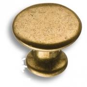 49000-22 Ручка кнопка, старая бронза