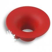 490032ST09 Ручка кнопка детская, круг красный 32 мм