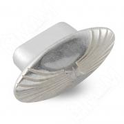 WPO.503.000.00M5 Ручка-кнопка серебро Венецианское