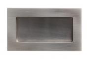 512160120-66 Ручка врезная, отделка сталь шлифованная