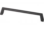 S518760160-9005 Ручка-скоба 160 мм, отделка черный матовый