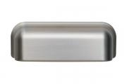 S542760096-66 Ручка-ракушка 96 мм, отделка сталь шлифованная