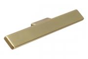 S544860032-31 Ручка накладная L.159мм, отделка золото шлифованное