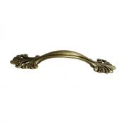"""Ручка-скоба 64мм, отделка бронза античная """"Флоренция"""" WMN.627X.064.M00D1"""