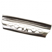 Ручка-скоба 96мм, отделка серебро 9.1340.0096.18