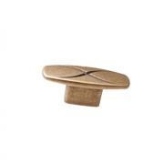 Ручка-кнопка 16мм, отделка бронза античная 6160/831