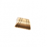 Ручка-скоба 16мм, отделка бронза античная французская 9.1345.0016.25