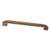 Ручка-скоба 224-192мм, отделка бронза натуральная 8.1108.224192.29