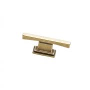 Ручка-кнопка 16мм, отделка бронза матовая 9.1336.0016.28