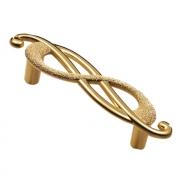 Ручка-скоба 64мм (правая), отделка золото императорское EA036Z064D0.70