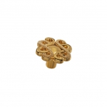 Ручка-кнопка, отделка золото императорское IA108Z03000.70