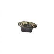 Ручка-кнопка, отделка чернёное серебро + декапе WPO.503Y.000.M00C2
