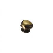 Ручка-кнопка, отделка бронза PZ.200