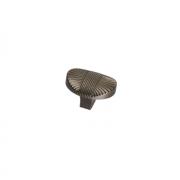 Ручка-кнопка, отделка олово старое 8491/825