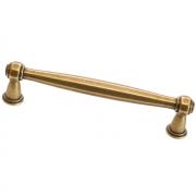 Ручка-скоба 128мм, отделка бронза античная французская 9.1342.0128.25