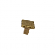 Ручка-кнопка, отделка старая бронза 49530.22