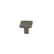 Ручка-кнопка, отделка старое железо 49530.33
