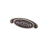 Ручка-скоба 64мм, отделка серебро старое 15134Z10000.25