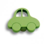 603VE Ручка кнопка детская, машина зеленая