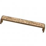 Ручка-скоба 160мм, отделка бронза античная красная 8.1077.0160.23