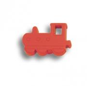 605RJ Ручка кнопка детская, паровозик красный