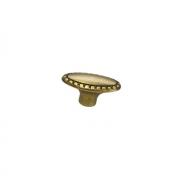 Ручка-кнопка, отделка бронза матовая 10.798.B28