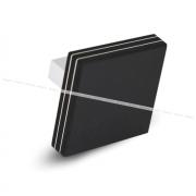 Ручка-кнопка 16мм черный матовый 60.5050.MB