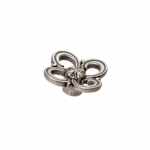 Ручка-кнопка,отделка старое серебро с блеском WPO.636Y.045.M00E8