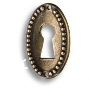 6110.0034.001 Ключевина декоративная, античная бронза