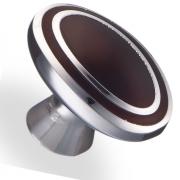 Ручка кнопка металл/древ.смола 34х22х24 мм 6115-AH