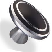Ручка кнопка металл/древ.смола 34х22х24 мм 6115-J