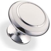 Ручка кнопка металл/древ.смола 32х25,5 мм 6116-L-CF