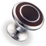 Ручка кнопка металл/древ.смола 22,5х21,7 мм 6116-S-AH
