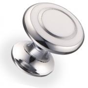 Ручка кнопка металл/древ.смола 22,5х21,7 мм 6116-S-CF