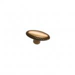 "Ручка-кнопка ""Виктория"", отделка бронза античная красная 10.818.B23"