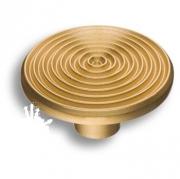 6130-200 Ручка кнопка матовое золото