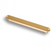 6131-200 Ручка скоба, матовое золото 192 мм