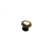 Ручка-кнопка, отделка золото глянец 10.734.C10