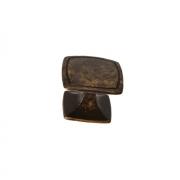 Ручка-кнопка, отделка медь P16/OVAB