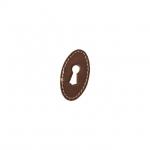 Накладка вертикальная под ключ, отделка кожа 30150.047V0.G1